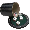Jeu de poker menteur en cuir