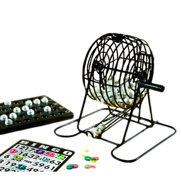 Mini jeu de bingo complet avec sphère