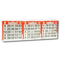 Lot de 1500 cartes de bingo jetables