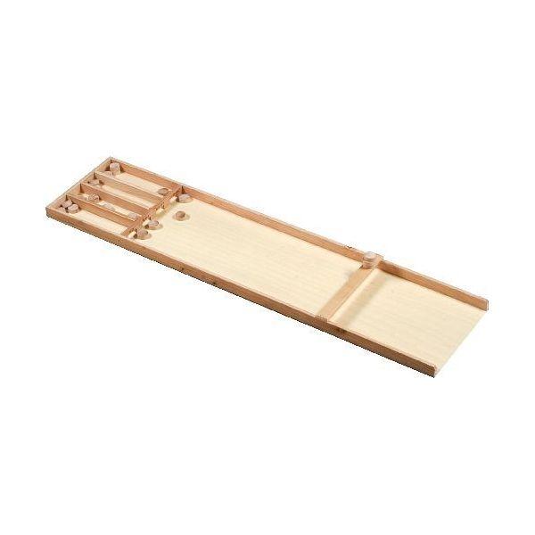 Petit Billard hollandais en bois ou suffleboard 122 cm