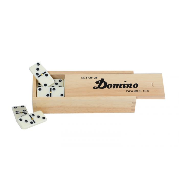 Petite Boite de Jeu de Dominos Classiques DOUBLE 6
