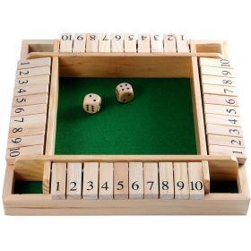 Jeu en bois ferme la boite 4 joueurs