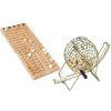 Jeu de loto en bois avec sphère métal 18 cm