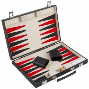 Backgammon rouge noir et blanc 36 cm