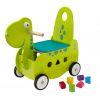 Porteur en bois pour bébé Le dinosaure