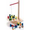 Jeu en bois d'équilibre la balancelle