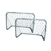Paire de cages de foot junior 78x56x45 cm