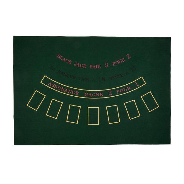 Tapis de BLACK JACK 130 cm x 90 cm