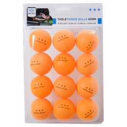 12 Balles de tennis de table oranges