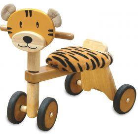Vélo 4 roues en bois Tigre