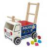 Porteur évolutif Le camion de police