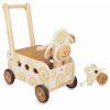 Pousseur porteur en bois pour bébé Mouton