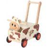 Pousseur porteur en bois Clara la vache IM87130