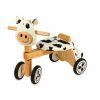 Porteur en bois Vélo 4 roues Clara la vache IM87520