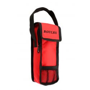 Sacoche rouge de pétanque pour jeu de 3 boules