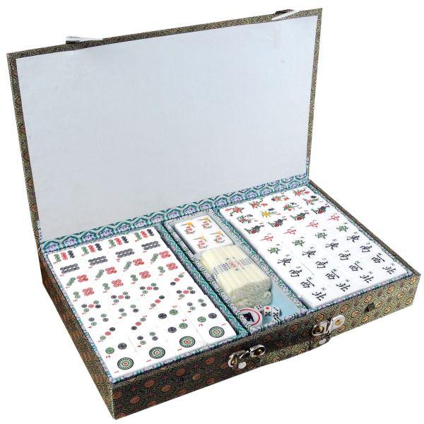 Jeu traditionnel chinois le Mahjong