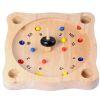 Toupie Roulette, jeux de la roulette en bois