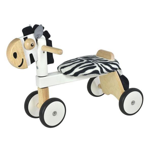 porteur zebre en bois pour bébé