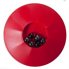 Knikkerpot 17 cm Rouge Jeu de Billes avec 6 Billes