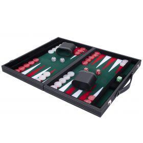 Backgammon Vert Haute qualité 45,5 cm Nacré