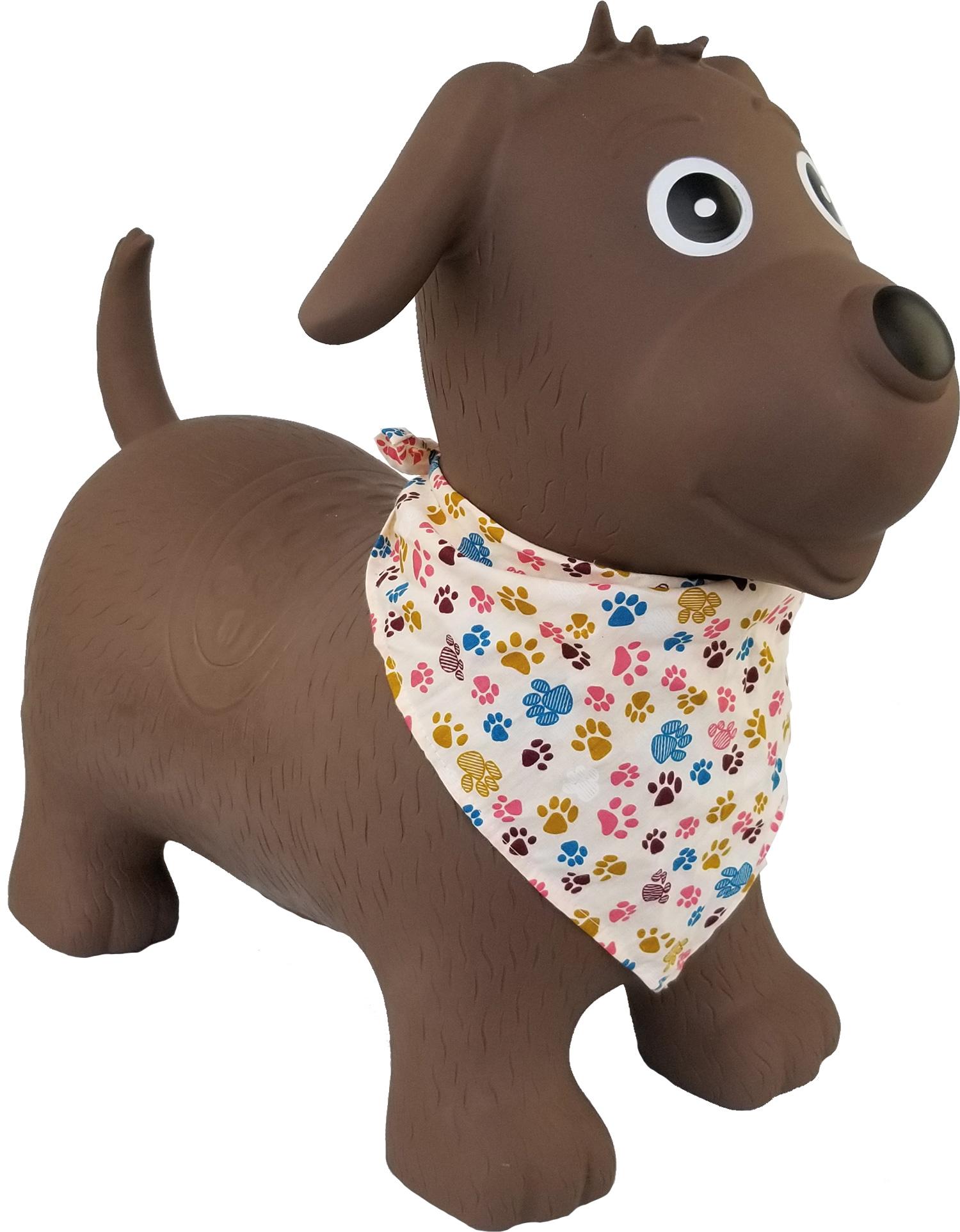 skippy le chien ballon sauteur animal