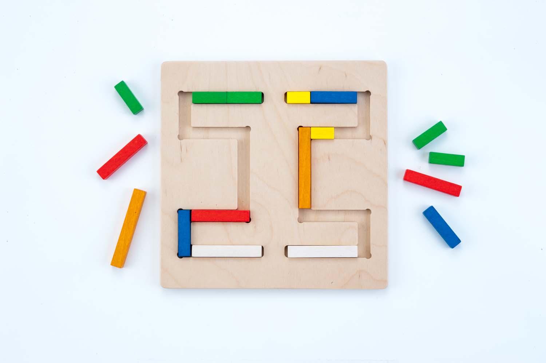 jouet en bois prescolaire