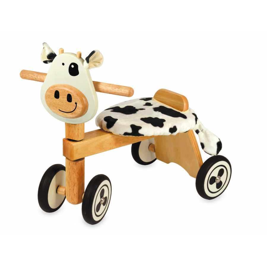 jouet en bois le porteur en bois animal Vélo 4 roues en bois Clara ... 19ab1cea26a