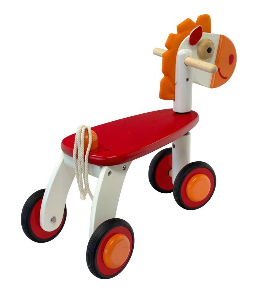 544091a89ba quadricycle pour bébé garçon 1 an Le cheval de bois