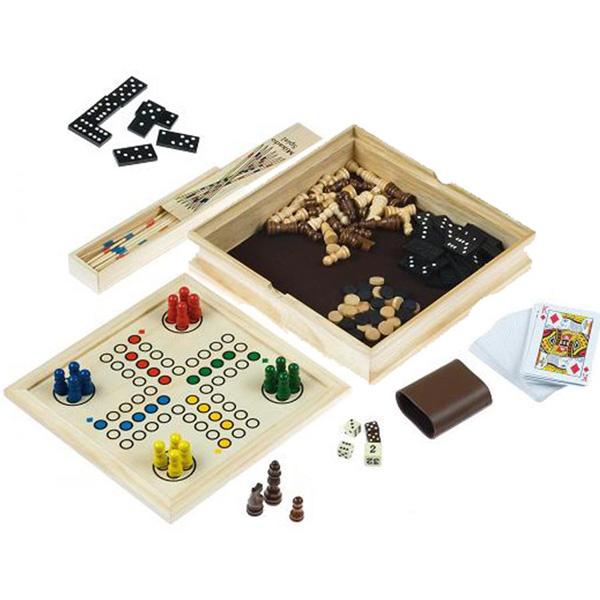 jeux de société adultes enfants en bois